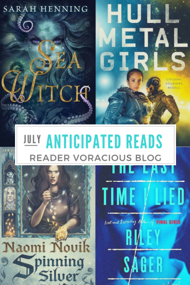 July 2018 Anticipated Reads