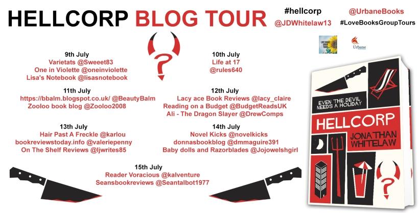HellCorp Blog Tour info
