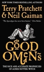 Good Omens book cover