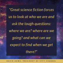 David Howe on science fiction