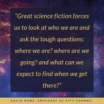 David Howe on science fiction