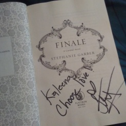 signed copy of Finale: Kaleena, choose love!